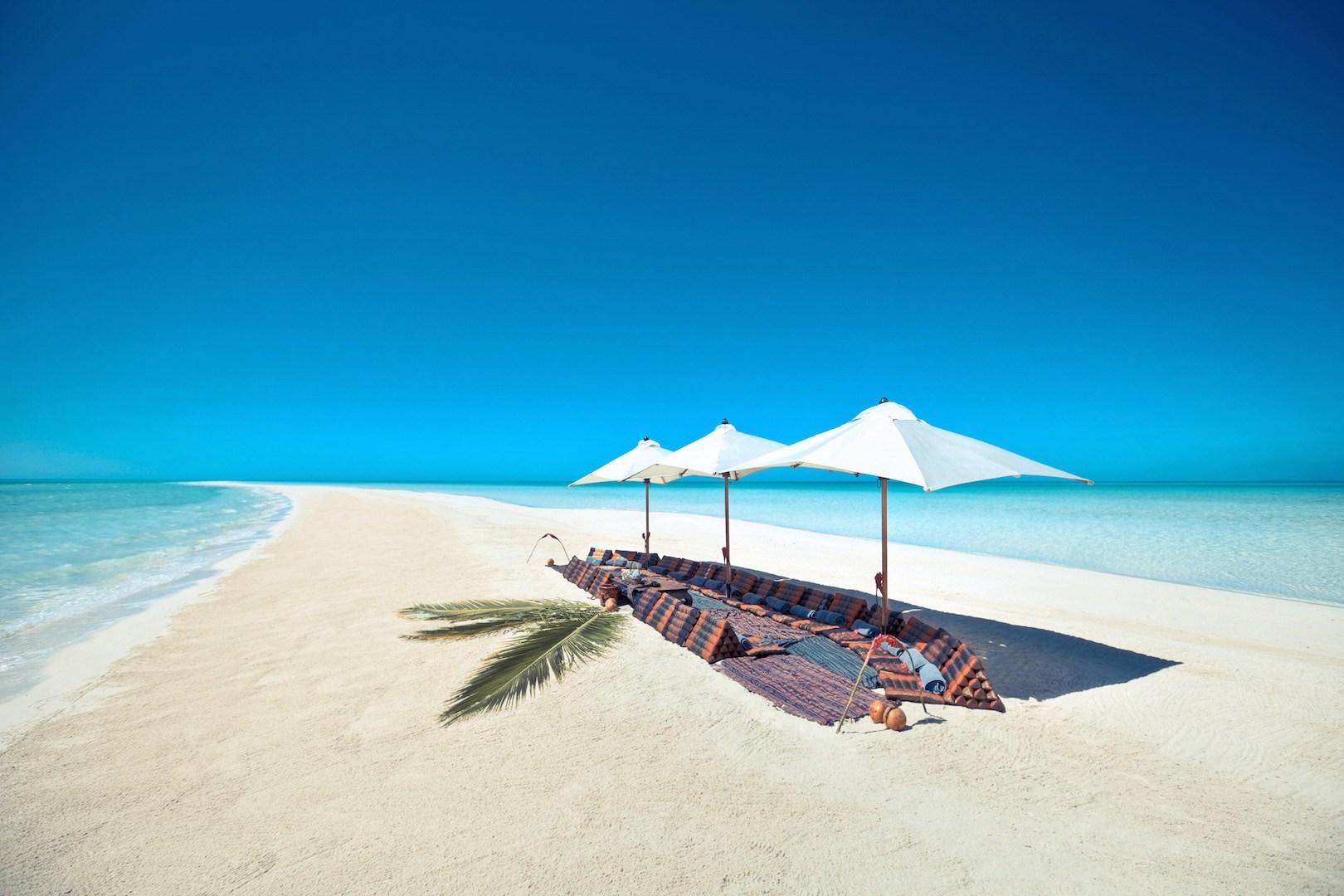 Luksus ø-hop på Bahamas.