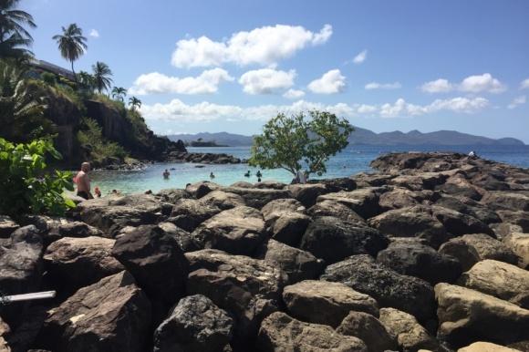 Guadeloupe, Dominica og Martinique
